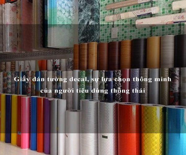 Giấy dán tường decal, sự lựa chọn thông minh của người tiêu dùng thông thái 2