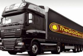 in, cắt decal nam châm dẻo dán xe khách, xe tải, container