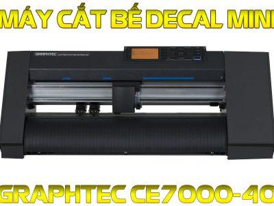 Máy cắt decal Mini Graphtec CE7000-40 cắt bế tem nhãn