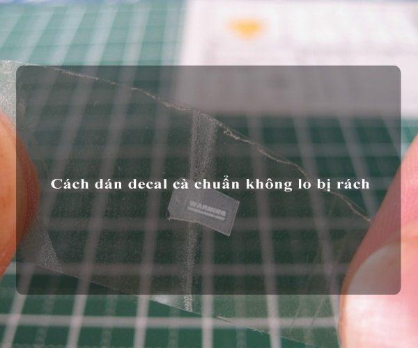 Cách dán decal cà chuẩn không lo bị rách 4