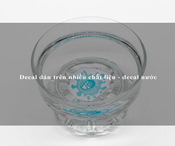 Decal nước - Decal dán trên nhiều chất liệu 3