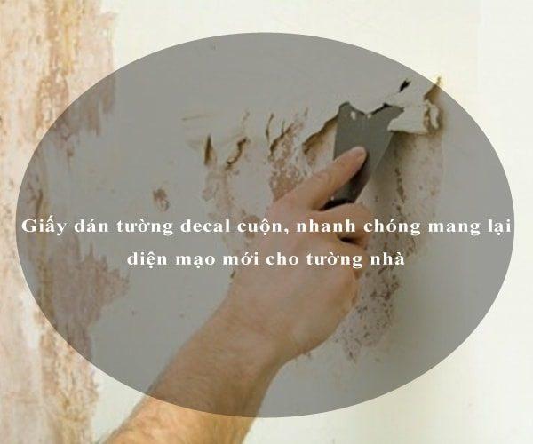 Giấy dán tường decal cuộn, nhanh chóng mang lại diện mạo mới cho tường nhà 4