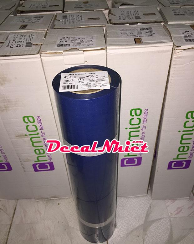 Decal chuyển nhiệt Pháp First Mark Blue 109 (PVC) màu xanh dương