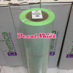 Decal ép nhiệt Pháp màu mi nơ lá First Mark Fluo Green 131