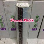 Decal nhiệt chuyển Pháp màu gương inox bạc Silver Mirror 1430 (PVC)