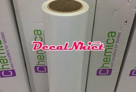 Decal ép nhiệt Pháp First Mark White 101 (PVC) màu trắng