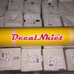 Decal ép nhiệt Pháp First Mark Yellow 104 màu vàng (PVC)