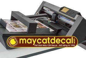 Khay nạp decal tự động cho máy cắt bế decal tờ rời F-Mark for Graphtec CE6000