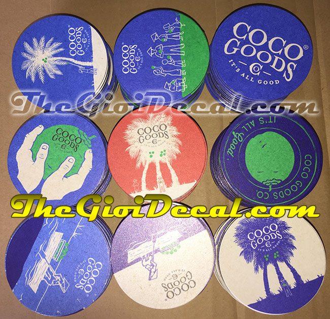 Logo nam châm dẻo Coco Goods