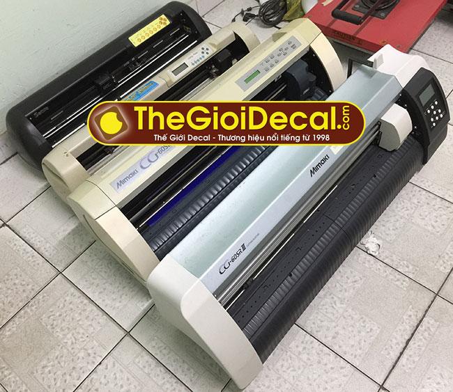 Sửa máy cắt decal - Sửa chữa máy cắt chữ decal