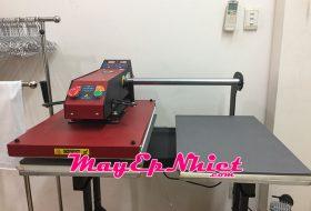 Máy ép nhiệt tự động bằng hơi 40x60 loại 2 mâm
