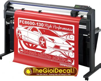 Bảng giá máy cắt bế decal Graphtec FC8600 Nhật Bản