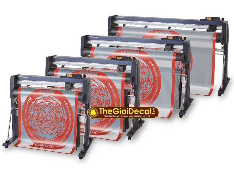 Bảng giá máy cắt decal Graphtec FC9000-75, FC9000-140, FC9000-160