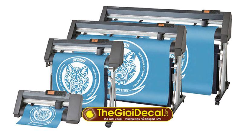 Máy cắt decal Graphtec CE7000