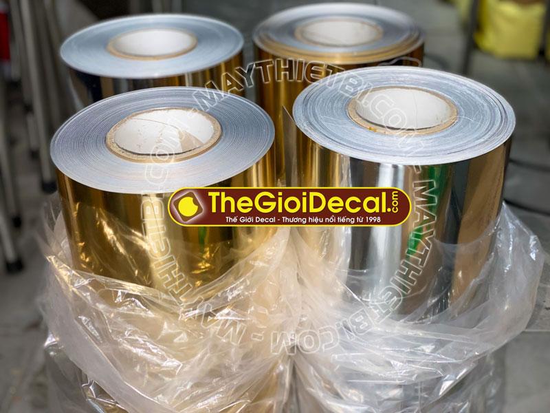 Decal nhiệt Foil - Metallic (mềm) HQ