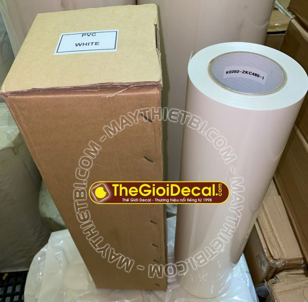 Decal chuyển nhiệt PVC HQ