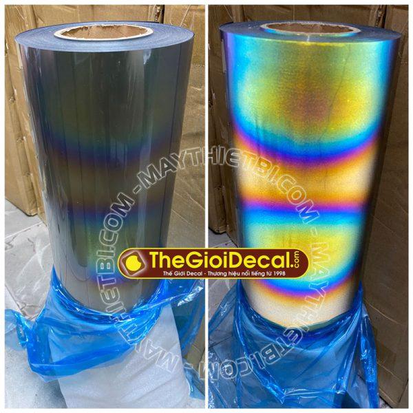 Decal chuyển nhiệt phản quang 7 màu khổ 61