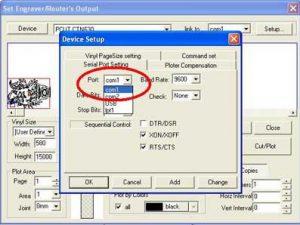 Một số lỗi phần mềm Artcut