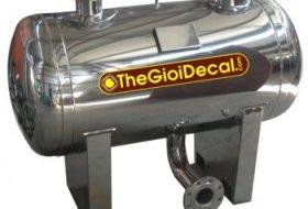 in, cắt decal nhãn bồn nước inox, nhựa, máy nước nóng