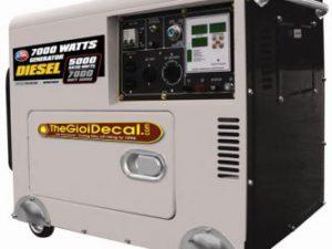 in, cắt decal nam châm dẻo dán máy móc, thiết bị