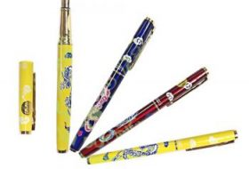 Giấy decal nước trang trí bút