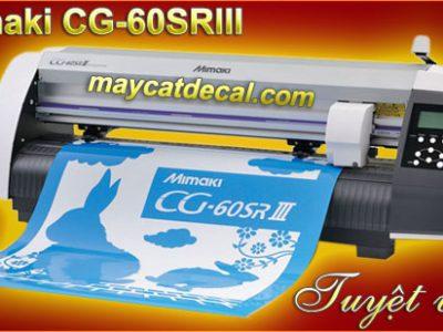 Máy cắt decal Mimaki CG-60SRIII cắt bế tem