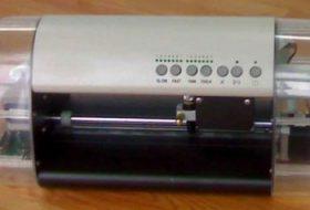 Máy cắt decal Mini DC330 cắt bế tem nhãn